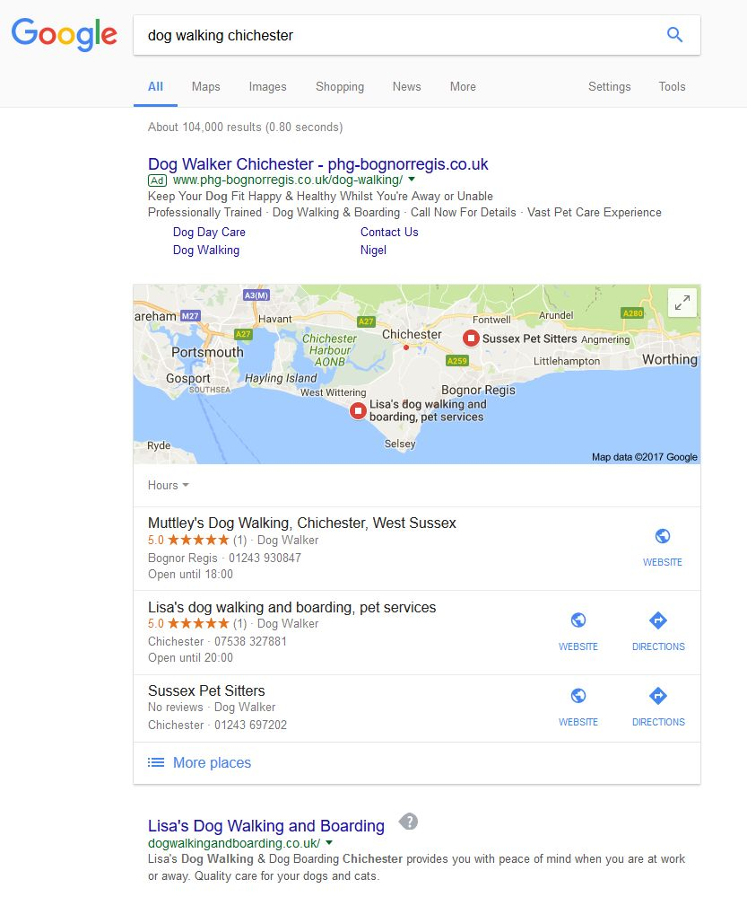 dog walking chichester - Google Search