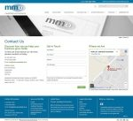 MMO Accountants Website Contact page by Access by Design 01243 776399