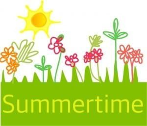 Summertime graphic